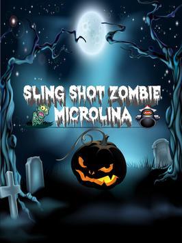 Slingshot Zombie - MicroLina screenshot 1