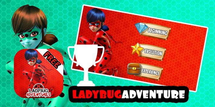 Super Adventures ladybug 2017 apk screenshot