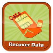 Recover Data Sim Card icon