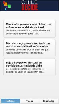 Chile Decide 2013 apk screenshot