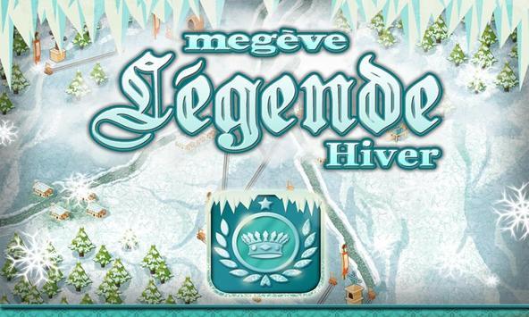 Megève Légende Hiver poster