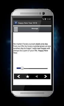 Happy New Year Great Messages 2018 apk screenshot