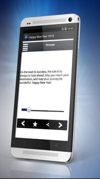 Great Happy New Year Messages 2018 apk screenshot
