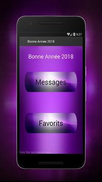 Bonne Année Meilleures Voeux 2018 screenshot 1
