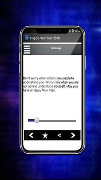Top Best Happy New Year Messages 2018 apk screenshot