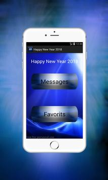 Best Happy New Year SMS 2018 apk screenshot