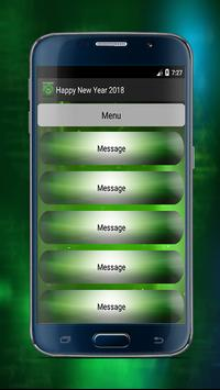 Happy New Year Great Messages 2018 screenshot 2