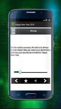 Happy New Year Great Messages 2018 screenshot 3