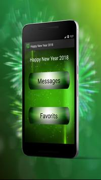 Happy New Year Best Messages 2018 screenshot 1