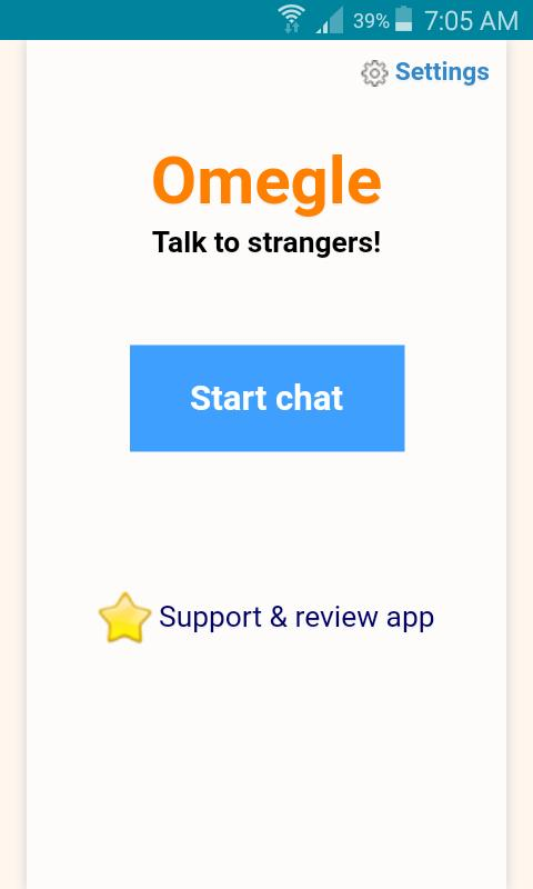 Omegle App Download
