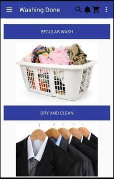 Washing Done poster