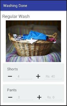 Washing Done apk screenshot