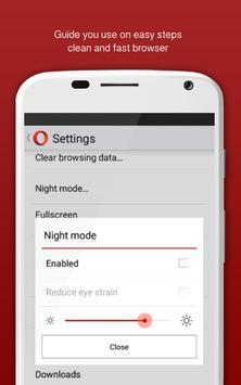 Fast Opera mini Download Tutor apk screenshot