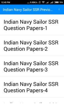 भारतीय नौसेना नाविक भर्ती 2017-2018 प्रश्न पत्र screenshot 10