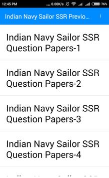 भारतीय नौसेना नाविक भर्ती 2017-2018 प्रश्न पत्र screenshot 5
