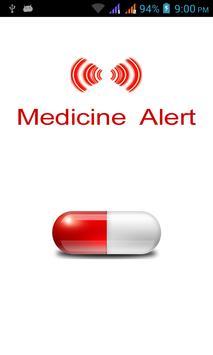 Medicine Alert poster
