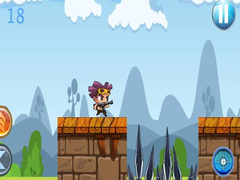 Crazy Kid Warrior apk screenshot