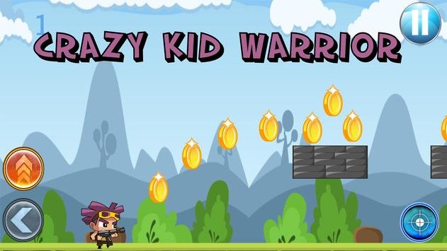 Crazy Kid Warrior poster