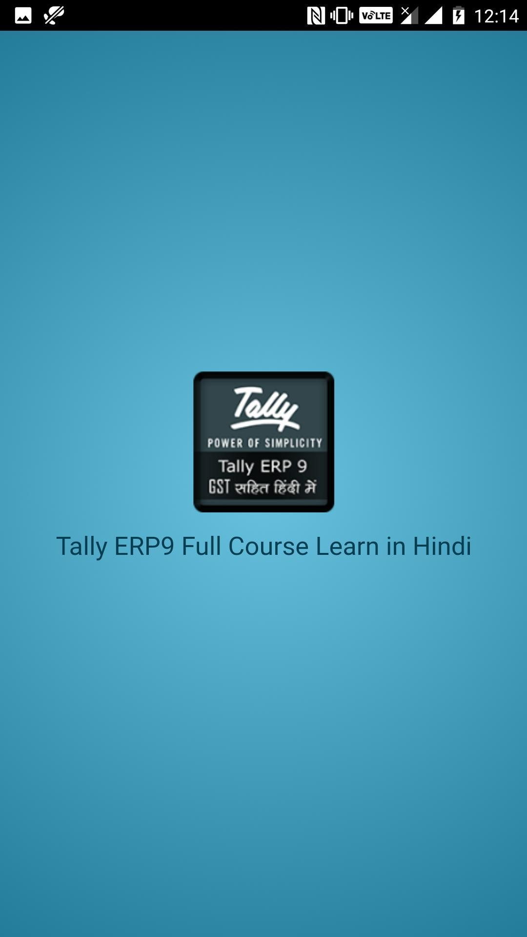 Tally ERP9 Full Course Learn in Hindi for Android - APK Download
