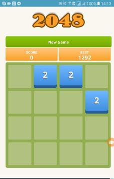 Game 2048 apk screenshot