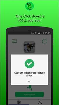 One Click Boost screenshot 3