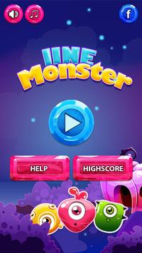 Line 98 Monster Color Ball poster