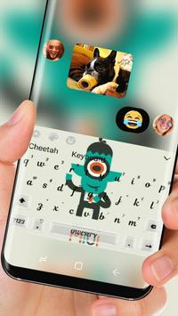 One-eyed monster Keyboard apk screenshot