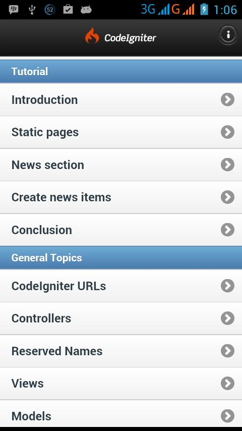 Codeigniter Tutorial for Android - APK Download