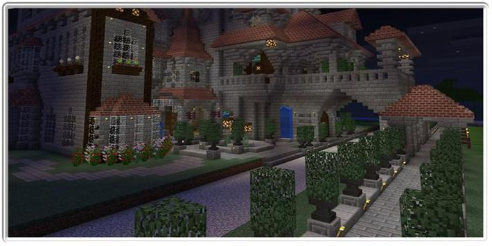Findell mansion maps for minecraft poster