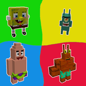 Spongebob mod for minecraft pe icon