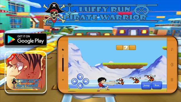 Luffy Run,Pirate Warrior apk screenshot