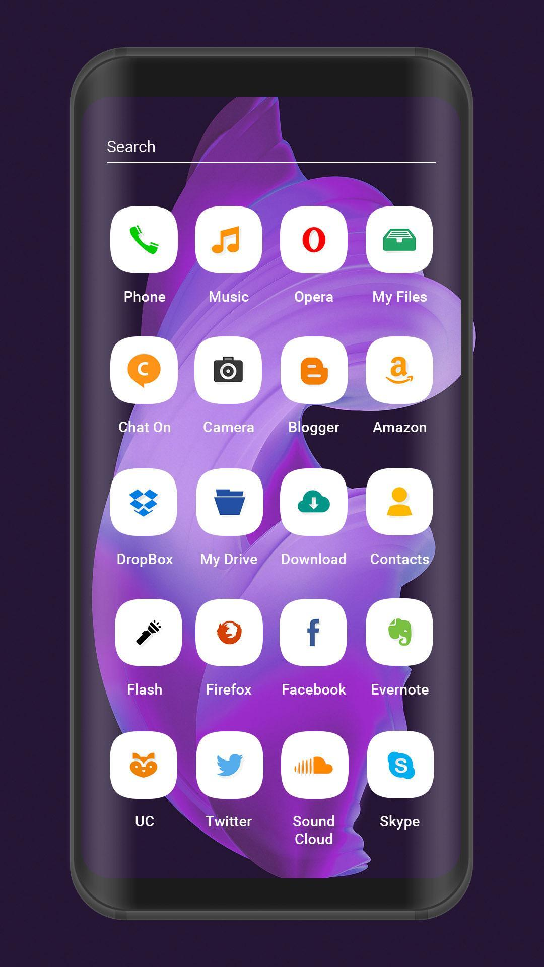 launcher and theme for oneplus 5 / one plus6 for Android