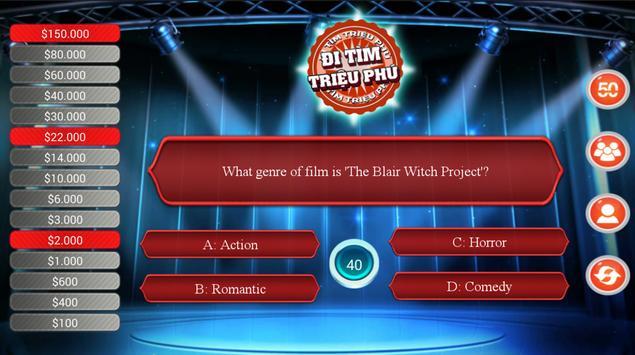 Millionaire Quiz Free screenshot 3