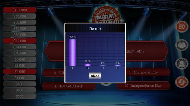Millionaire Quiz Free screenshot 2