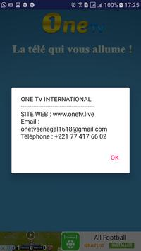 One TV Sénégal screenshot 10