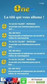 One TV Sénégal screenshot 19