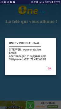 One TV Sénégal screenshot 2
