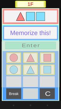 ColorfulMemory~Brain Training~ apk screenshot