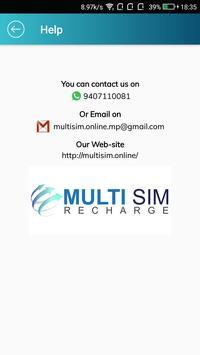 Multisim Recharge screenshot 2