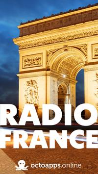 French Radio poster
