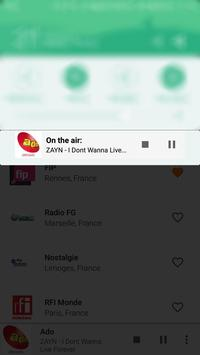 French Radio apk screenshot