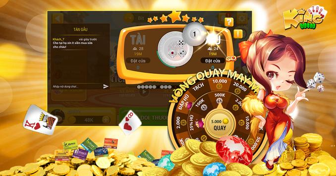 KingWin - Game bai online moi nhat 2018 screenshot 1