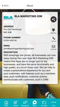 BLA Marketing IOM apk screenshot