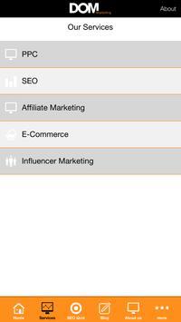 DOM Marketing apk screenshot