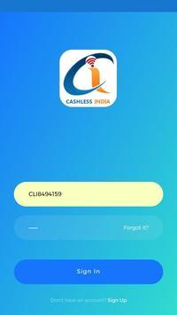 CashlessIndia poster