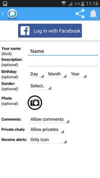 Online Chat screenshot 1