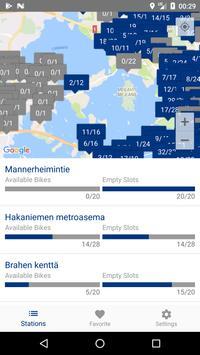 Cityfillars: Helsingin kaupunkipyörät ja asemat poster