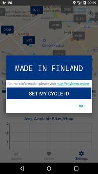 Cityfillars: Helsingin kaupunkipyörät ja asemat apk screenshot