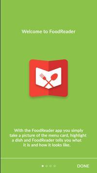 FoodReader poster