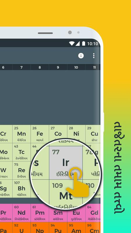 periodic table for android apk download periodic table poster periodic table screenshot 1 urtaz Image collections